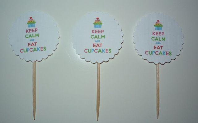 Brennender Schuh - Cupcake-Decoration